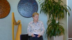 Diane Radford at Breast Cancer Survivor dinner June 2012 image
